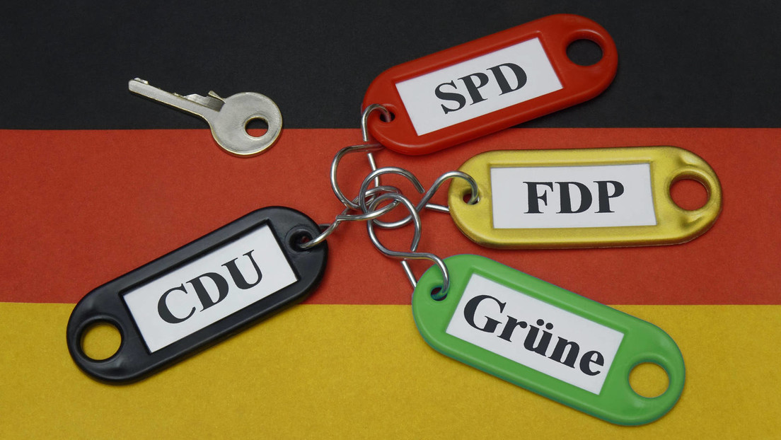 Aktuelle Umfrage zur Bundestagswahl: Vorsprung der Grünen auf SPD schmilzt zusammen