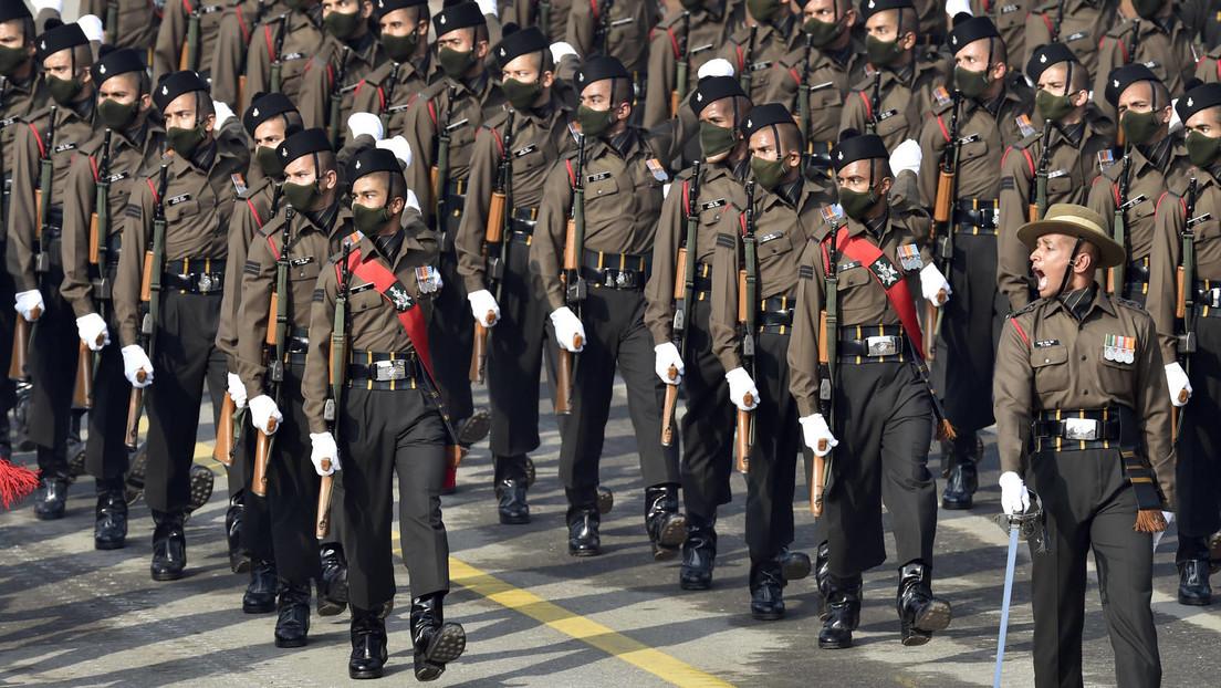 Indien schickt 50.000 Soldaten an chinesische Grenze