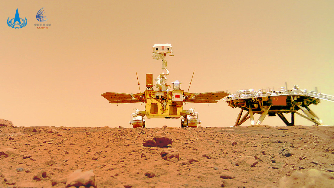 China präsentiert Videos von Rover Zhurong auf der Marsoberfläche