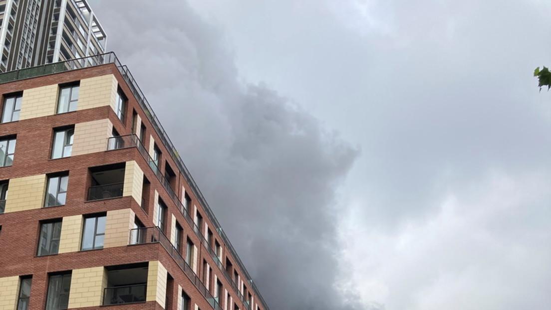 LIVE: Großbrand wütet in London nahe des Bahnhofs Elephant and Castle