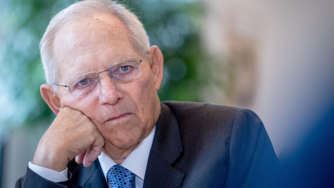 """Wolfgang Schäuble: RT entspricht nicht """"den Grundsätzen von Medienfreiheit"""""""