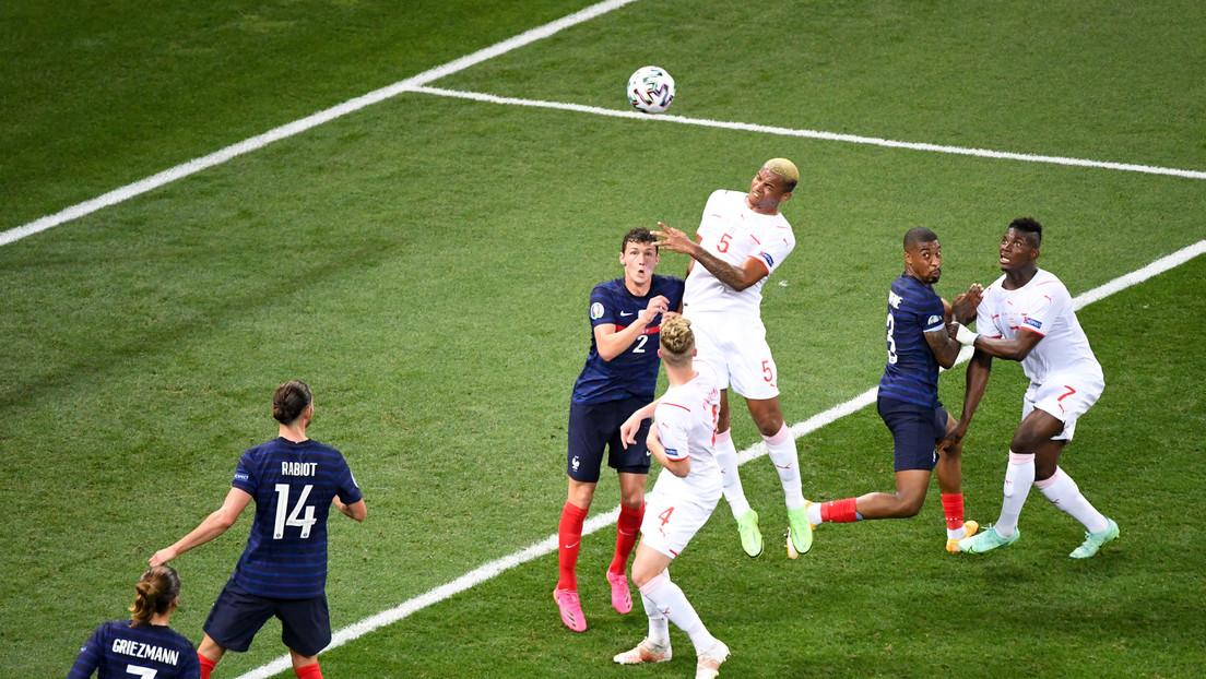 Schweiz schlägt Weltmeister Frankreich im Elfmeterschießen und steht im EM-Viertelfinale