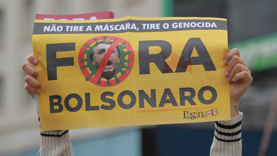 Brasiliens Präsident Bolsonaro soll Corona-Korruption geduldet haben: Senatoren erstatten Anzeige