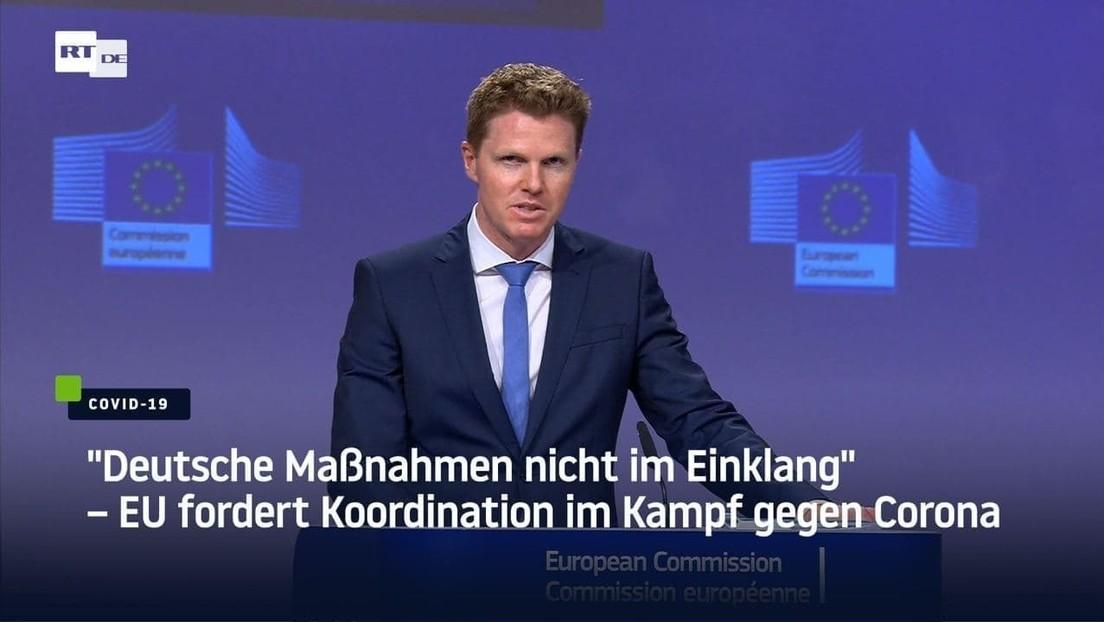"""""""Deutsche Maßnahmen nicht im Einklang"""" – EU fordert Koordination im Kampf gegen Corona"""