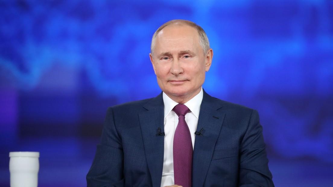 Wladimir Putin antwortet auf Frage über Amtsnachfolger