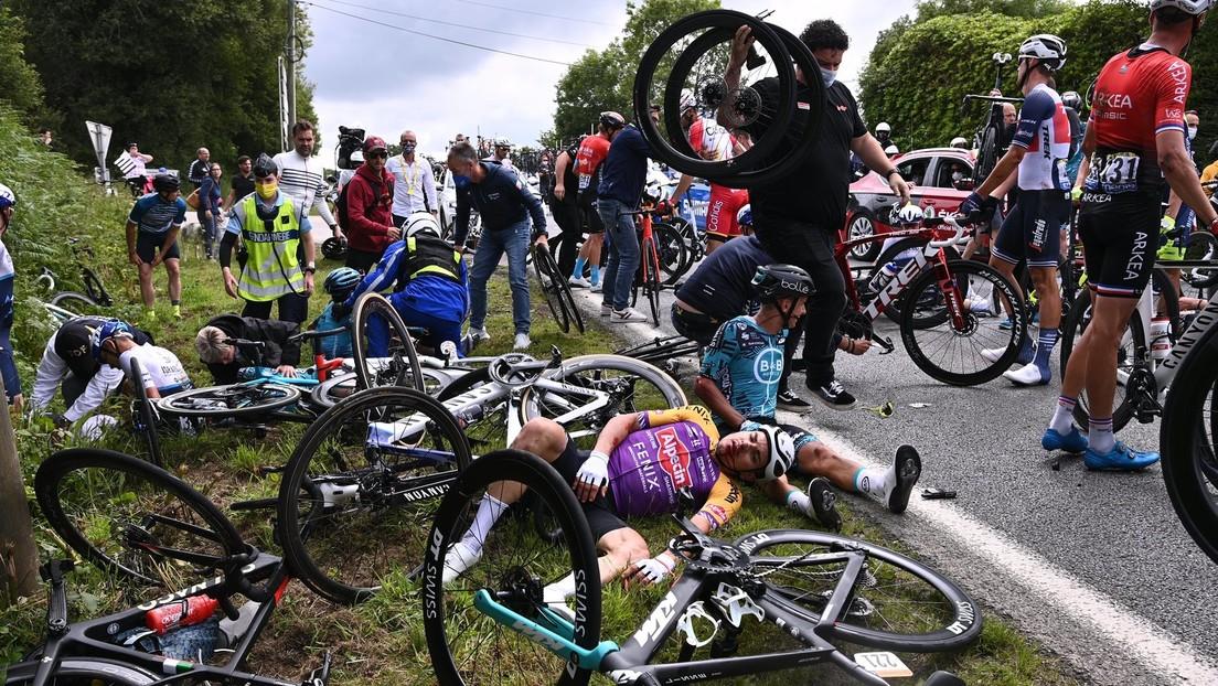 Tour de France: Für Sturz verantwortliche Zuschauerin offenbar gefasst