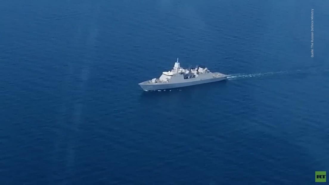 NATO-Manöver vor der Krim von Zwischenfällen überschattet