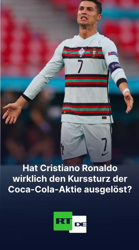 Hat Cristiano Ronaldo wirklich den Kurssturz der Coca-Cola-Aktie ausgelöst?