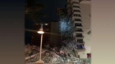 Unglück in Miami (USA): Zwölfstöckiges Hochhaus stürzt ein