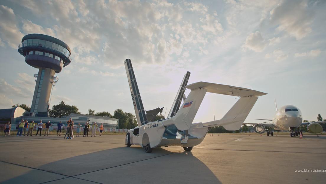 Die Zukunft ist jetzt: Fliegendes Auto absolviert Testflug von Nitra nach Bratislava