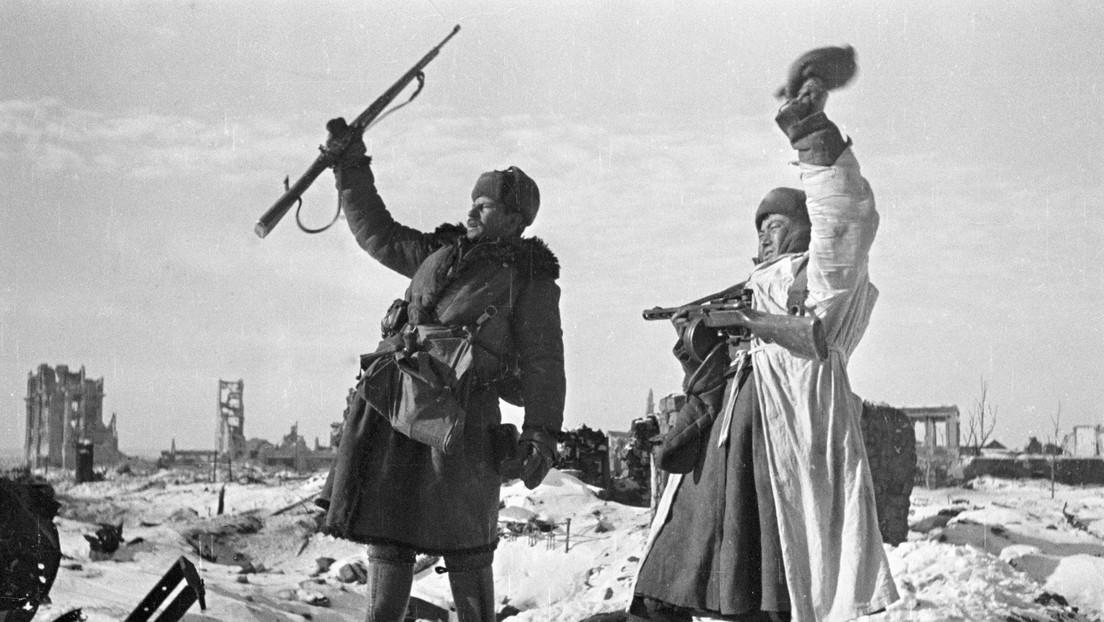 Wer Stalin immer noch zuschreiben will, dass er den Krieg gewonnen hat, verewigt seine Lüge