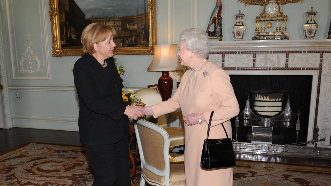 Tea Time mit der Queen: Merkel sagt Goodbye in London