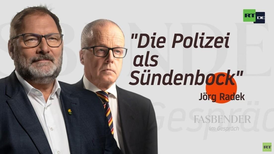 """Fasbender im Gespräch – mit Jörg Radek: """"Die Polizei als Sündenbock"""""""