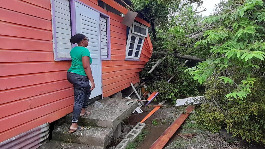"""Hurrikan """"Elsa"""" verursacht Zerstörungen in Karibik"""