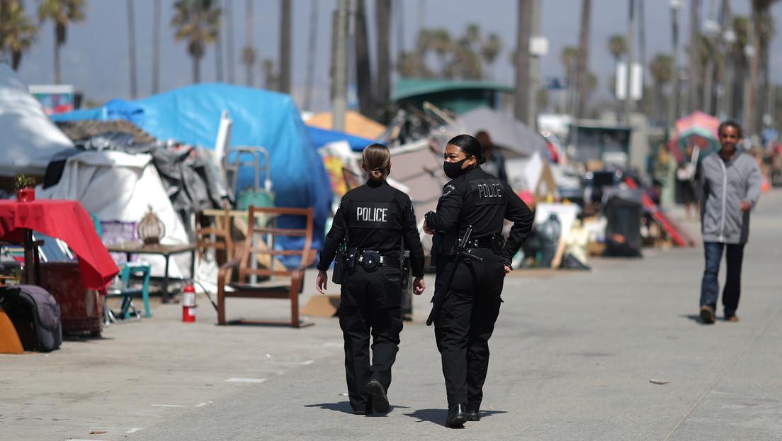 Gewalt und Kriminalität am Strand: Obdachlosencamp in Los Angeles beunruhigt Anwohner und Polizei
