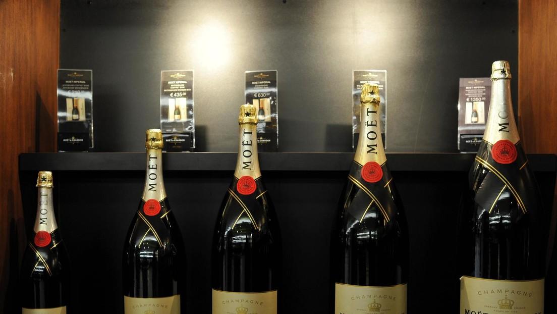 """Champagner-Hersteller lenkt ein und kennzeichnet seinen """"Schaumwein"""" für Export nach Russland"""