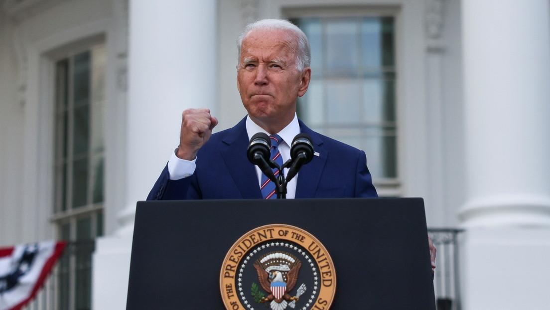 """Biden in Rede am Unabhängigkeitstag: """"Impfen ist das Patriotischste, was Sie tun können"""""""