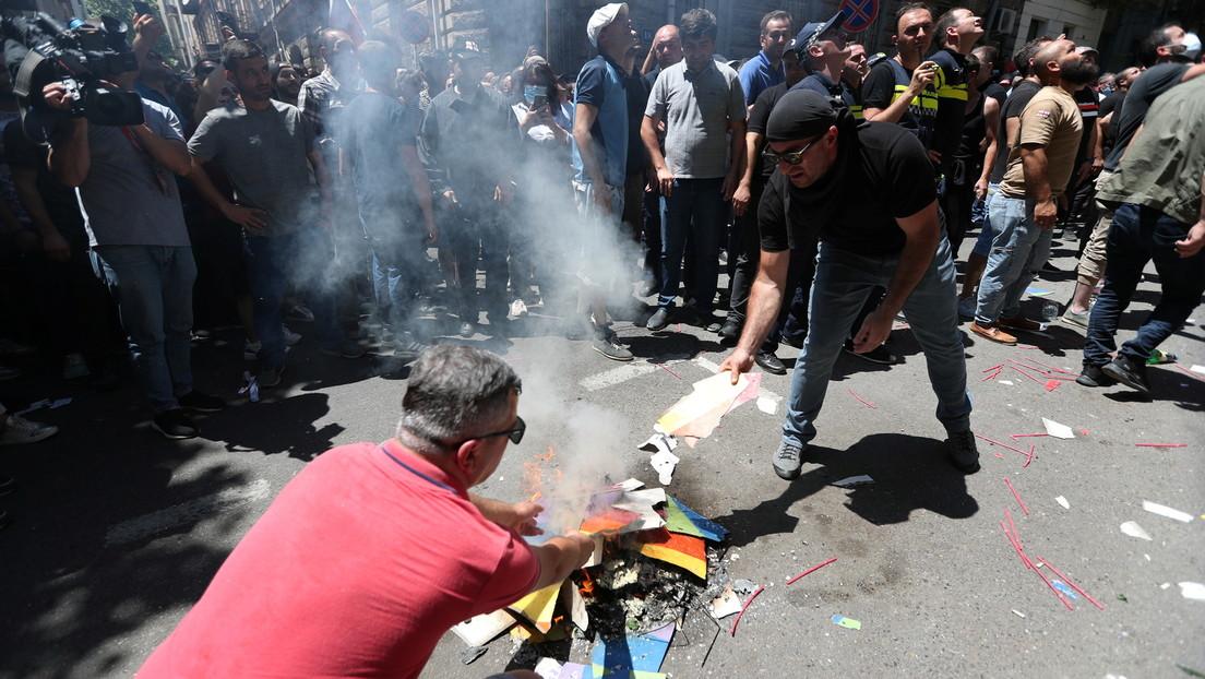 Georgien: CSD-Parade in Tiflis nach Ausschreitungen abgesagt