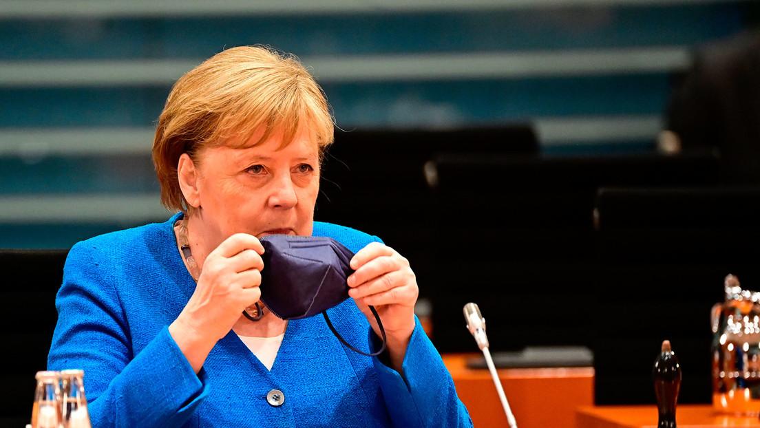 Merkel und Spahn streben Impfquote von 80 Prozent an