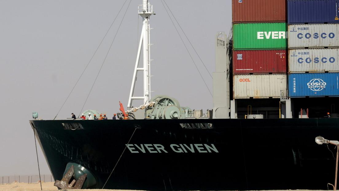 """Nach zwangsweisem Halt: """"Ever Given"""" darf am Mittwoch wieder in See stechen"""