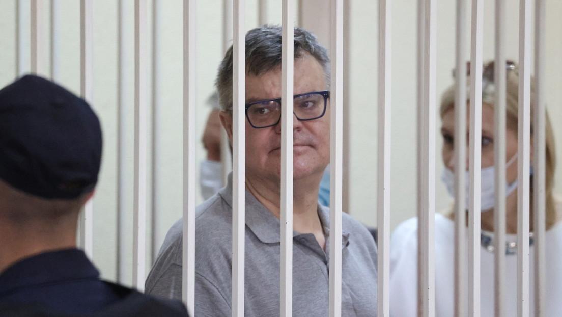 Weißrussischer Oppositionspolitiker Wiktor Babariko zu 14 Jahren Haft verurteilt
