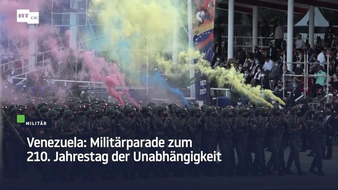 Venezuela: Militärparade zum 210. Jahrestag der Unabhängigkeit