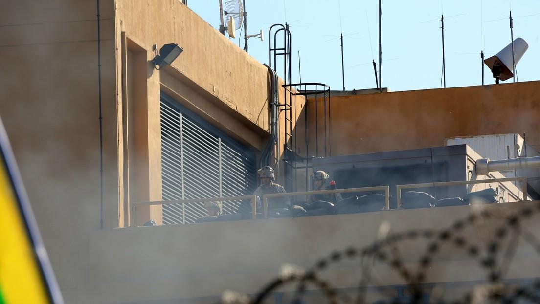 Sirene heult in US-Botschaft in Bagdad: Zahlreiche bewaffnete Drohnen nehmen US-Botschaft ins Visier