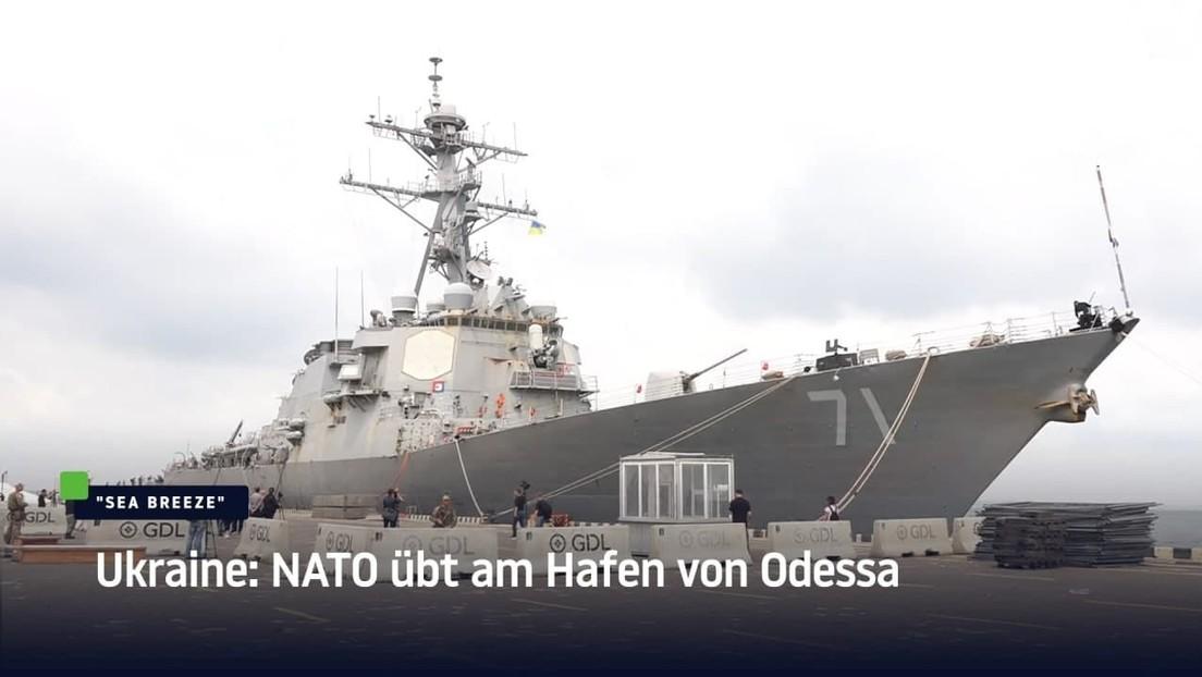 Ukraine: NATO übt am Hafen von Odessa