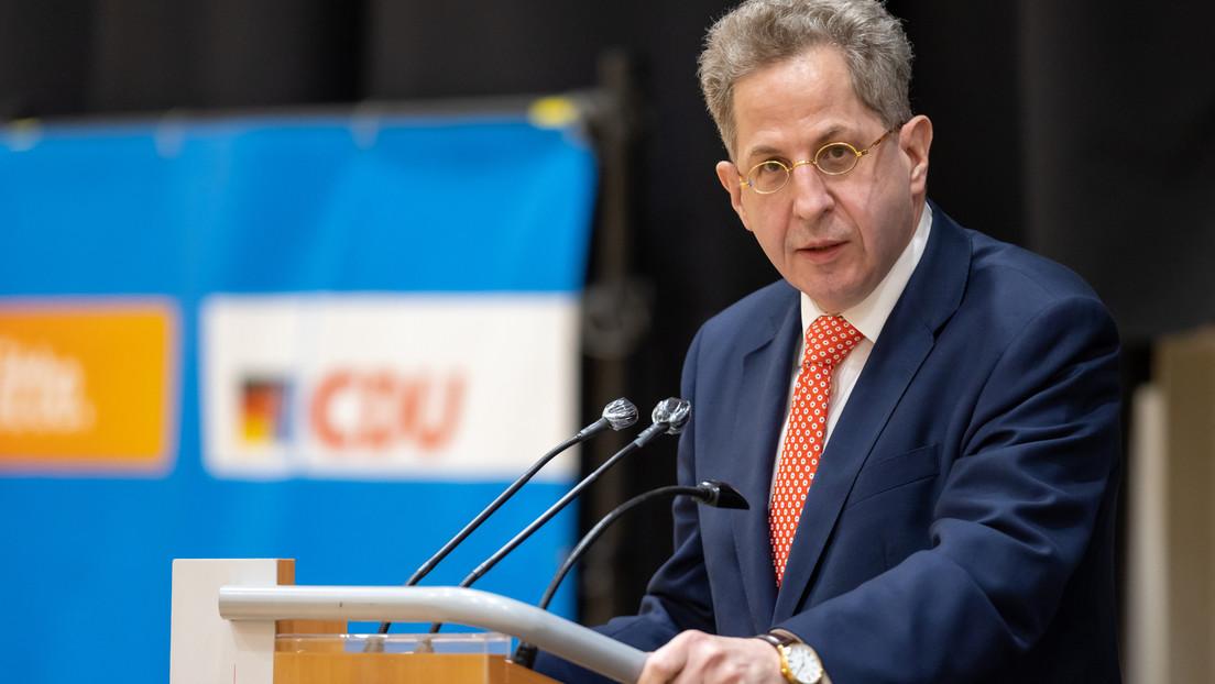 Debatte über Maaßens Aussagen: Forderung nach Parteiausschluss und Kritik von Laschet