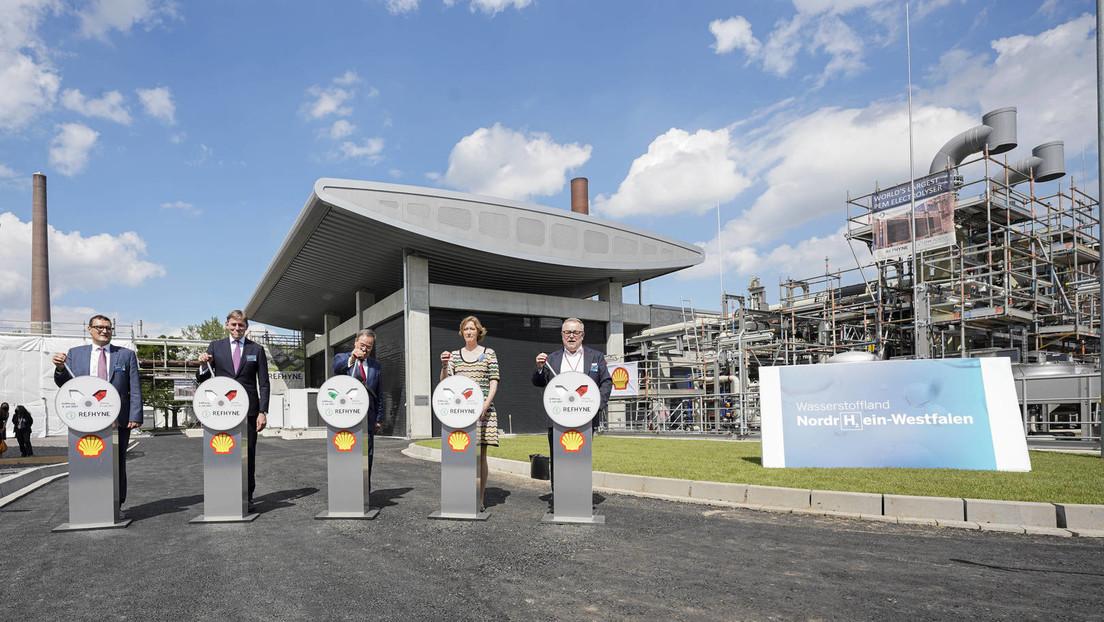 """Größte Anlage für die Produktion von """"grünem Wasserstoff"""" bei Köln gebaut"""