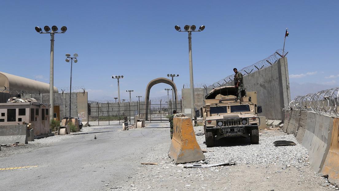 Davon wie ein Dieb in der Nacht: Wie die US-Truppen den Flugplatz Bagram räumten