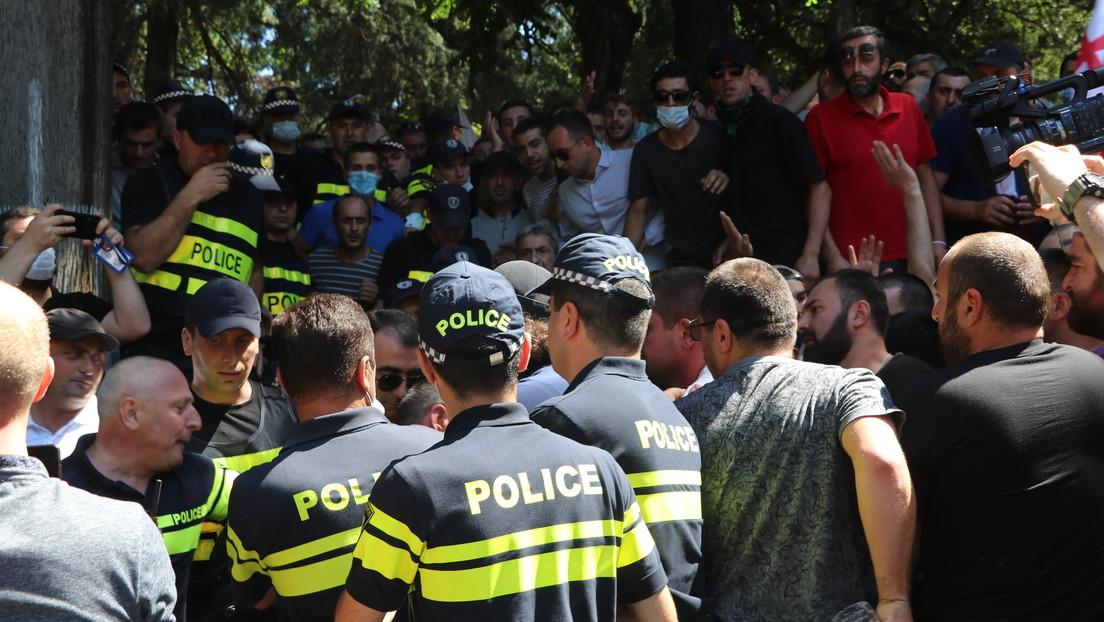Georgien nach vereitelter CSD-Parade: Erneute Ausschreitungen und Festnahmen in der Hauptstadt