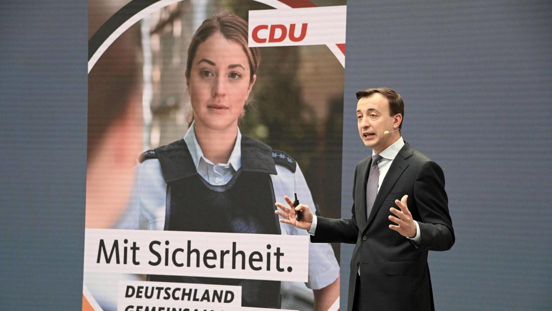 """Wahlwerbung mit falscher Polizistin auf CDU-Plakat """"könnte strafbar sein"""""""