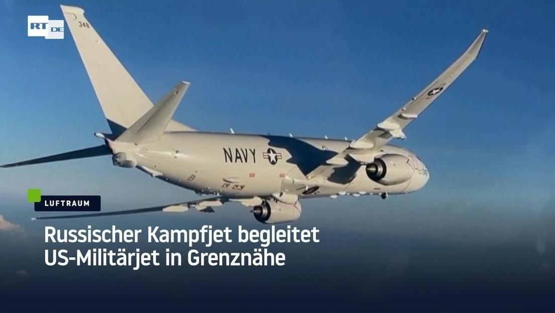 Russischer Kampfjet begleitet US-Militärjet in Grenznähe