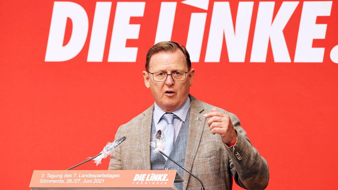 """Ramelow: """"Maaßen benutzt ähnliche Methoden wie Herr Höcke"""""""