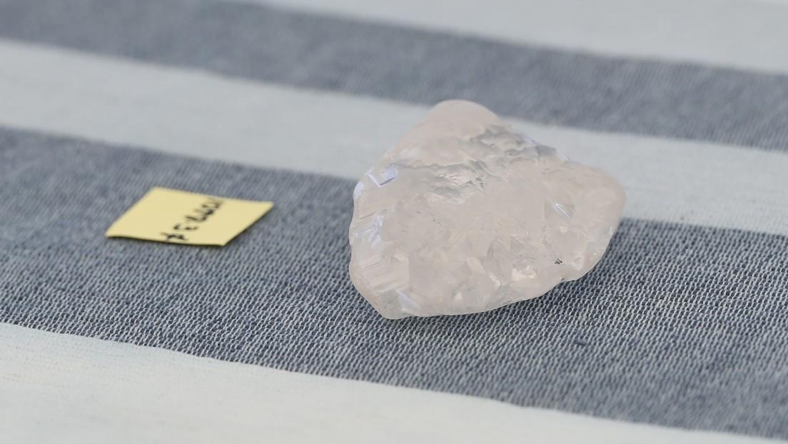 Zweiter Diamant von mehr als eintausend Karat in Botswana entdeckt