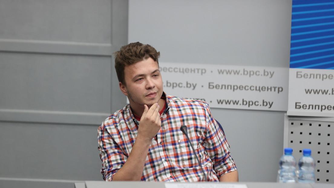 Festgehaltener weißrussischer Aktivist: Habe Flugangst seit Ryanair-Notlandung