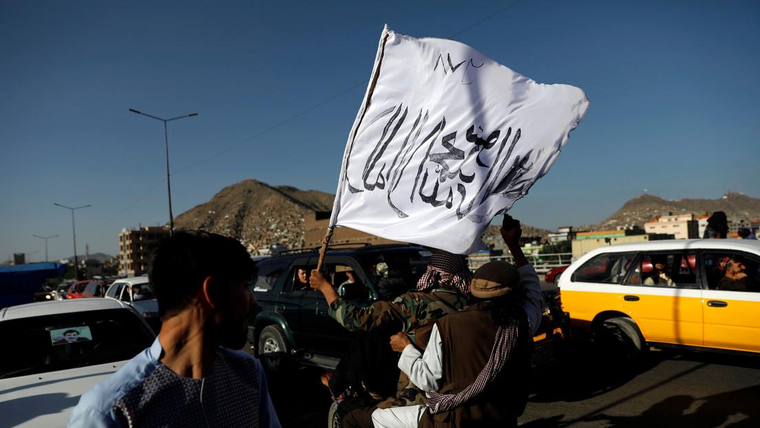 Medienberichte: Taliban hissen Flagge an der Grenze zu Tadschikistan