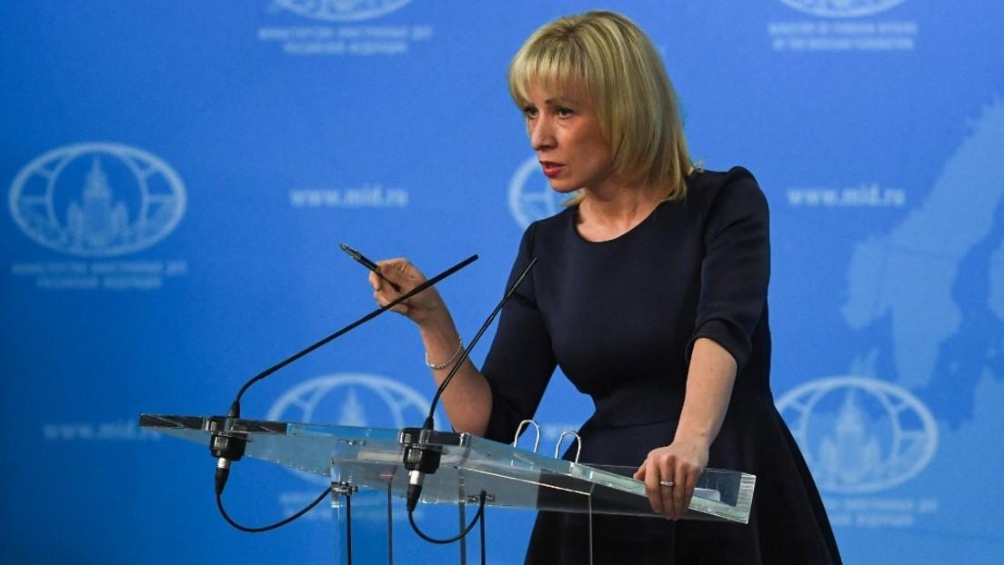 """Sacharowa zu Frankreichs Ablehnung von Sputnik V: """"Rassismus, imperialer Hegemonismus, Neonazismus"""""""