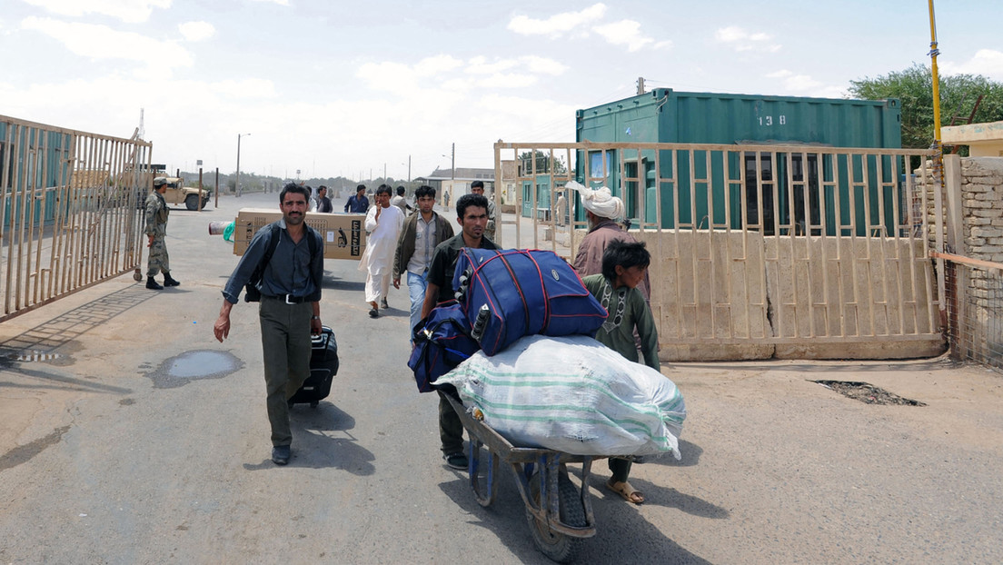 """Taliban verkünden """"vollständige Kontrolle"""" über Afghanistans wichtigsten Grenzübergang zu Iran"""