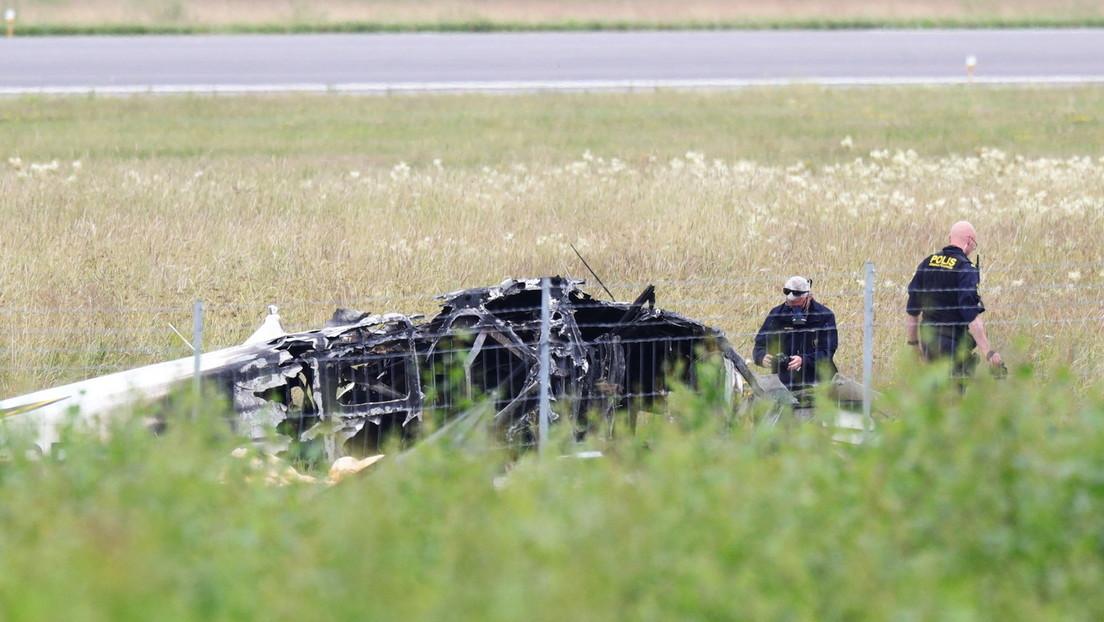 Pilot und acht Fallschirmspringer sterben bei Flugzeugabsturz in Schweden