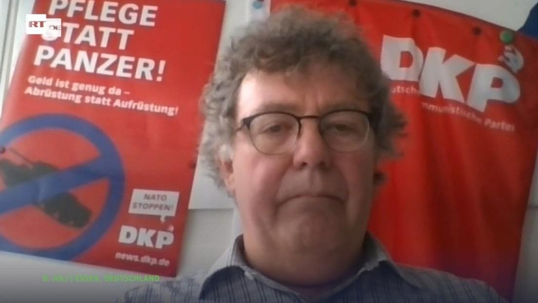 """""""Kommunismus lässt sich nicht verbieten"""" – DKP-Chef trotzt drohendem Entzug des Parteienstatus"""