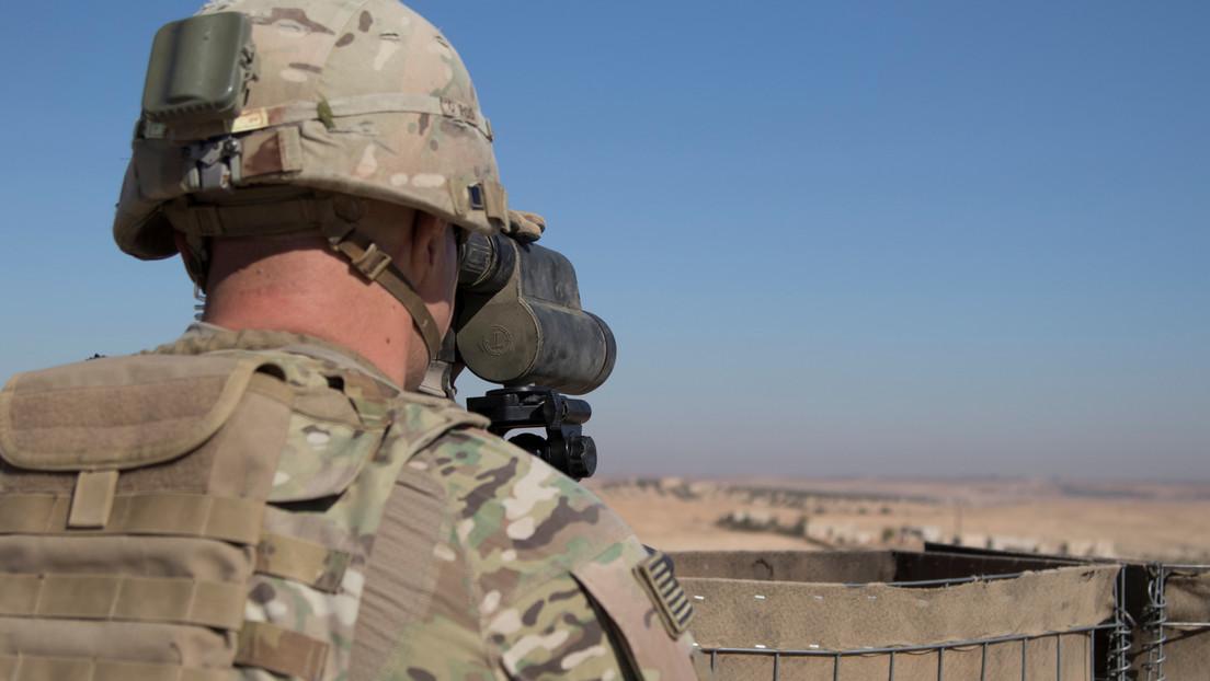 US-Soldaten geraten unter Beschuss neben Gasraffinerie im Osten Syriens