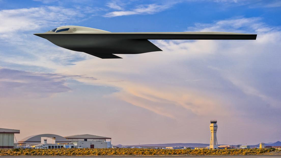 USA: Luftstreitkräfte veröffentlichen neues Abbild des Tarnkappenbombers B-21 Raider