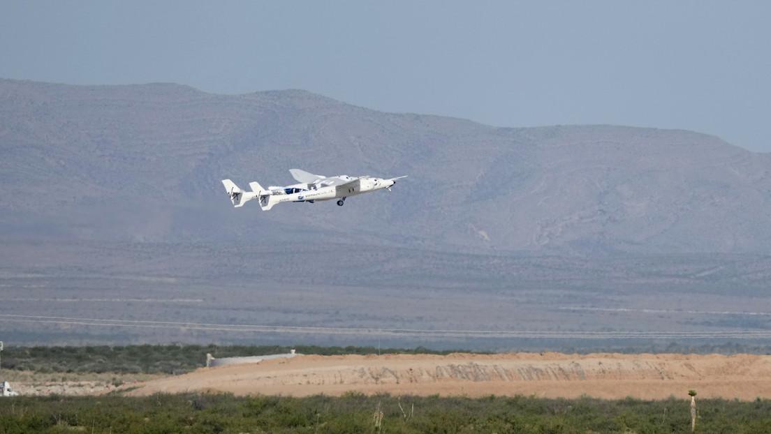 Milliardär Richard Branson in den Weltraum geflogen – noch vor Jeff Bezos