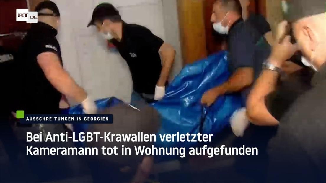 Bei Anti-LGBT-Krawallen verletzter Kameramann tot in Wohnung aufgefunden