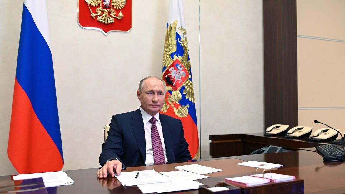 """""""Die Mauer zwischen uns ist eine Tragödie"""": Putin analysiert Beziehungen zur Ukraine"""