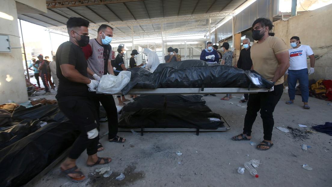Irak: Zahl der Toten bei Brand in Corona-Krankenhaus steigt auf fast 60