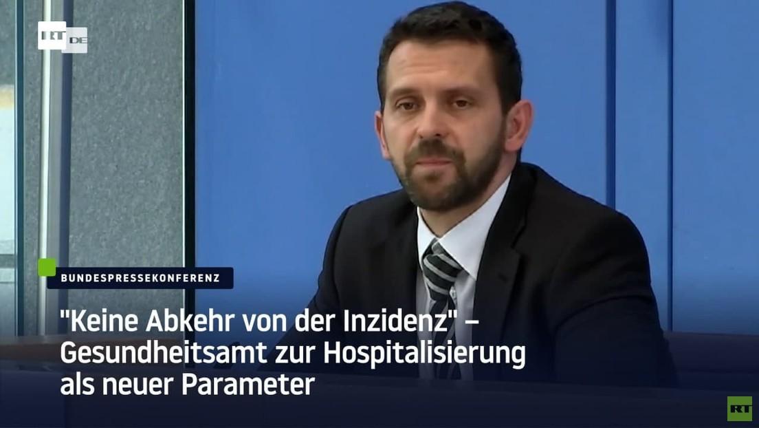 """""""Keine Abkehr von der Inzidenz"""" – Gesundheitsamt zur Hospitalisierung als neuer Parameter"""
