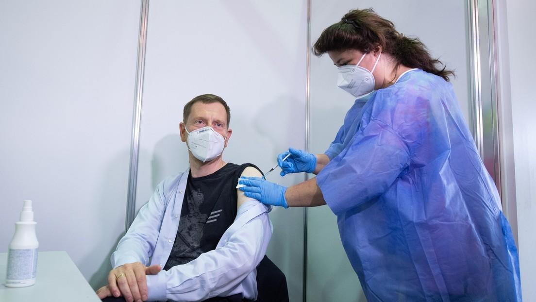 """Michael Kretschmer nach zweiter Impfdosis: """"Impfen ist Nächstenliebe"""""""